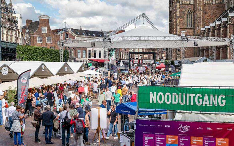 Zodat ze helemaal los kunnen gaan op Haarlem Culinair
